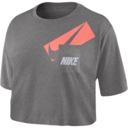Nike Logo Pocket Crop Top found on Bargain Bro from Macy's for USD $22.80