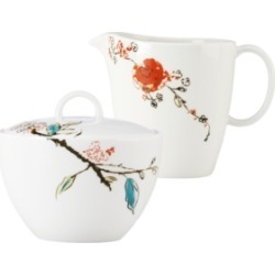 Lenox Simply Fine Dinnerware, Chirp Sugar and Creamer Set