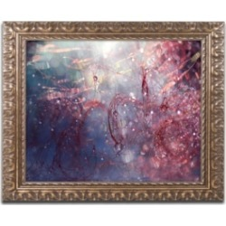 Beata Czyzowska Young 'Adventures of Red' Ornate Framed Art - 11