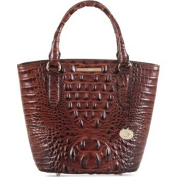Brahmin Small Bowie Leather Satchel found on MODAPINS from Macy's for USD $275.00