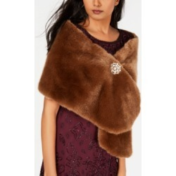 Adrianna Papell Faux-Fur Embellished Shawl found on Bargain Bro India from Macys CA for $103.98