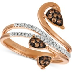 Le Vian Chocolatier Diamond Vine Ring (1/4 ct. t.w.) in 14k Rose Gold found on Bargain Bro India from Macy's Australia for $1449.36