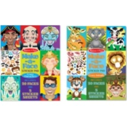 Melissa and Doug Make-a-Face Bundle - Crazy Characters Animals