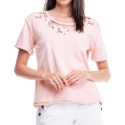 Fever Embroidered Cut-Out Sweatshirt found on MODAPINS from Macy's for USD $58.00