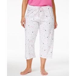 Hue Plus Size Cocktails Print Capri Pajama Pants found on Bargain Bro India from Macy's Australia for $47.48