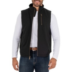 Wells Lamont Men's Sherpa Lined Canvas Vest with Zip Utility Pocket found on MODAPINS from Macy's for USD $26.00