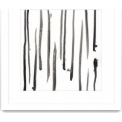 """Giant Art Monochrome Gestures Ix Matted and Framed Art Print, 36"""" x 36"""""""