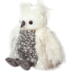 Manhattan Toy Luxe Luna Owl 11 Inch Plush Toy