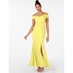 Nightway Cold Shoulder Gown found on MODAPINS from Macy's for USD $80.99
