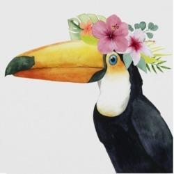 Grace Popp Tropical Halo Iii Canvas Art - 20