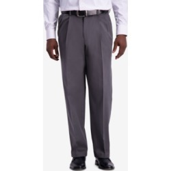 Haggar Men's W2W Pro Relaxed-Fit Performance Stretch Non-Iron Pleated Casual Pants found on MODAPINS from Macy's for USD $32.99