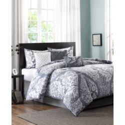 Madison Park Vienna Cotton 7-Pc. Queen Comforter Set Bedding found on Bargain Bro India from Macy's for $191.99