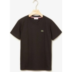 Lacoste Little Boys Short Sleeve V-Neck Cotton T-shirt found on Bargain Bro India from Macy's for $35.00