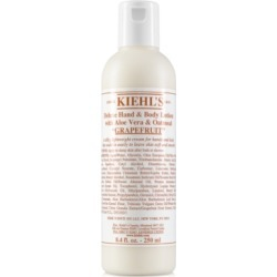 Kiehl's Since 1851 Deluxe Hand & Body Lotion With Aloe Vera & Oatmeal - Grapefruit, 8.4-oz.