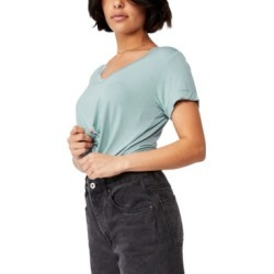 Women's Karly Shorts Sleeve V Neck Top found on Bargain Bro India from Macy's for $14.99