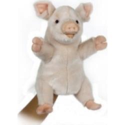 Hansa Pig Puppet Peter Plush Toy