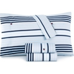 Tommy Hilfiger Ocean Stripe Full Sheet Set Bedding found on Bargain Bro Philippines from Macy's for $82.00