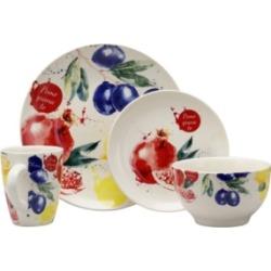 Elama Tuscan Amore 16 Piece Dinnerware Set