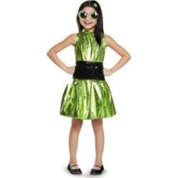 Powerpuff Girls Buttercup Deluxe Little and Big Girls Costume