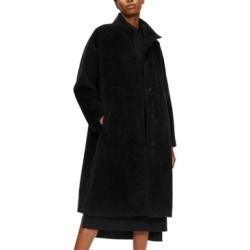 Eileen Fisher Stand-Collar Wool-Blend Coat found on MODAPINS from Macys CA for USD $366.66