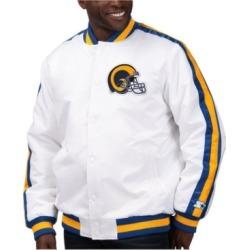 Starter Men's Los Angeles Rams The D-Line Starter Satin Jacket
