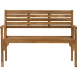 Linon Home Decor Clybourn Outdoor Folding Bench found on Bargain Bro from Macy's for USD $440.04