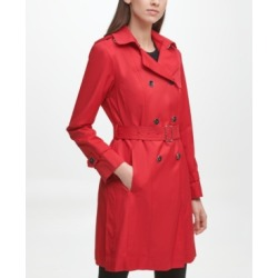 Cole Haan Classic Women's Cotton Trench Coat found on MODAPINS from Macy's for USD $200.00
