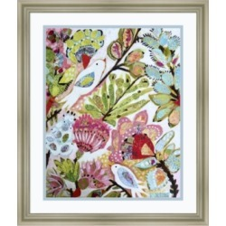 Amanti Art Paper Birds I Framed Art Print found on Bargain Bro India from Macys CA for $98.18