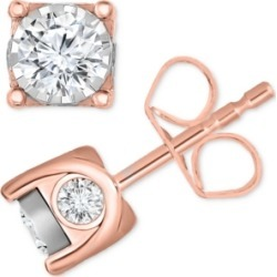 TruMiracle Diamond Stud Earrings (5/8 ct. t.w.) in 14k Gold or White Gold found on Bargain Bro India from Macy's for $259.00