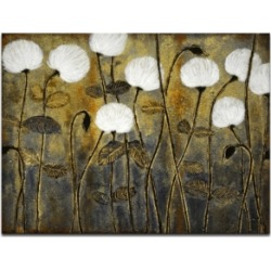Ready2HangArt 'Make A Wish' Floral Canvas Wall Art, 30x40