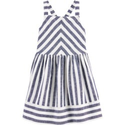 Carter's Toddler Girls Blue Striped Dress found on Bargain Bro India from Macy's Australia for $20.18