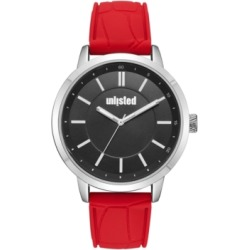 Unlisted Men's Red Silicone Sport Watch, 44MM found on Bargain Bro India from Macy's Australia for $35.05