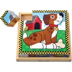 Melissa and Doug Kids Toy, Pets Cube Puzzle