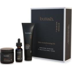Buttah Skin 3-pc Skin Transforming Kit with Facial Shea Butter