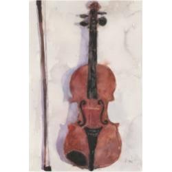 Samuel Dixon The Violin Canvas Art - 19.5