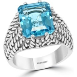 Effy Blue Topaz ( 4-3/4 ct. t.w.) Ring in Sterling Silver found on Bargain Bro Philippines from Macy's for $850.00