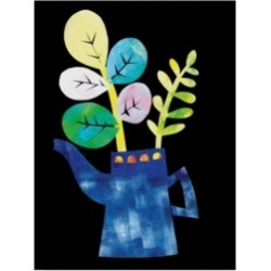 Summer Tali Hilty 'Potted Plants' Canvas Art - 32