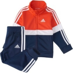 Adidas Baby Boys Zip Front Colorblock Varsity Track Jacket & Jogger Set found on Bargain Bro India from Macy's for $44.00
