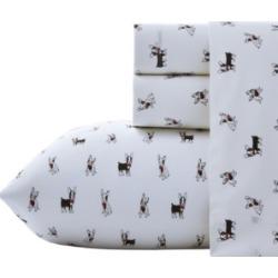 Poppy & Fritz Frenchie Sheet Set, Full Bedding found on Bargain Bro Philippines from Macy's for $59.99