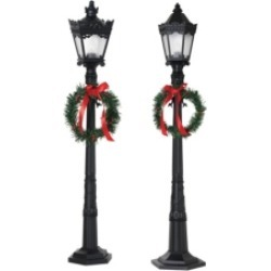 Gerson & Gerson 26-Inch Indoor Holiday Lamp Posts - Set of 2 found on Bargain Bro Philippines from Macy's Australia for $78.54