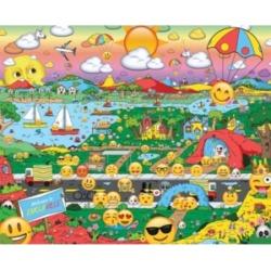 Springbok Puzzles Emojiville 1000 Piece Jigsaw Puzzle