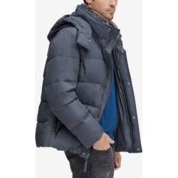 Marc New York Men's Baltic Mid-Length Parka With Removable Faux-Fur Collar found on MODAPINS from Macys CA for USD $118.56