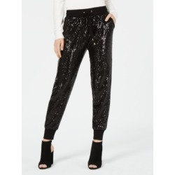 Xoxo Juniors' Pull-On Sequin Joggers found on MODAPINS from Macys CA for USD $43.63