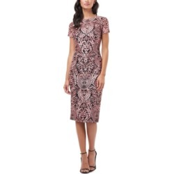 Js Collections Short-Sleeve Cocktail Dress found on MODAPINS from Macy's for USD $88.80
