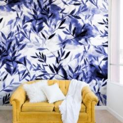 Deny Designs Jacqueline Maldonado Changes Indigo 8'x8' Wall Mural