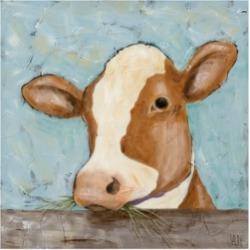 Jade Reynolds Daisy Cow Canvas Art - 15