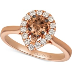 Le Vian Diamond Ring (3/4 ct. t.w.) in 14k Rose Gold & 14k White Gold found on Bargain Bro India from Macys CA for $2834.80