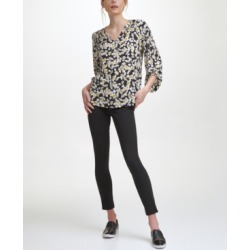 Karl Lagerfeld Bishop Sleeve V Neck Top found on MODAPINS from Macy's for USD $41.70