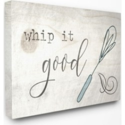 "Stupell Industries Whip It Good Whisk Canvas Wall Art, 30"" x 40"""