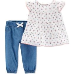 58e145e3e61bc Baby Girl Carter's 2-pc. Bunny Top on MODAPINS - Online Shopping for ...